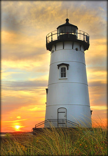 Edgartown Lighthouse at Sunset | by Massachusetts Office of Travel & Tourism