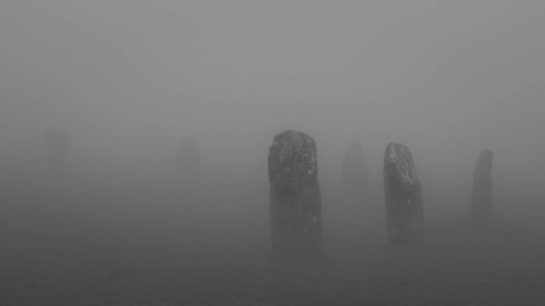 blackandwhite mist fog rocks cornwall panasonic stonecircle bodminmoor peasoup minions hurlers gx7 olympus45mmf18