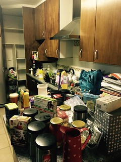 Kitchen renovation: spending the night emptying it | by olafmeister