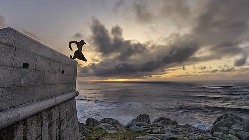 nariga lacoruña galicia españa spain costa sunset atardecer malpica coast nikon d5100 gcphotography paisaje landscape