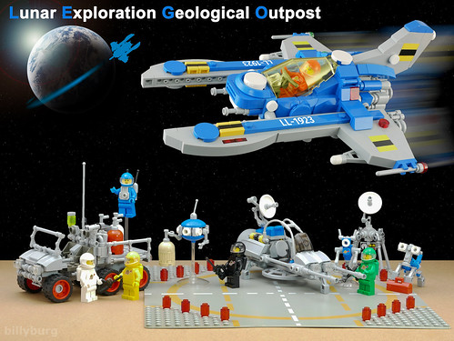 Updated Lunar Exploration Geological Outpost | by billyburg