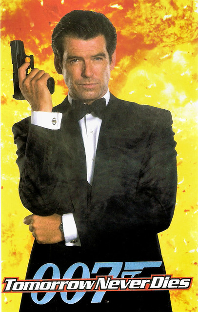 Pierce Brosnan in Tomorrow Never Dies (1997)