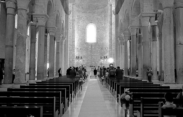 Wedding in the Cathedral - Trani