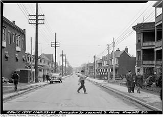 Dufferin Street south from Dundas Street