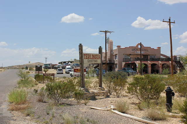 Terlingua Ghost Town Entrance