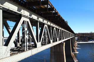 The Canadian Pacific Train Bridge over the South Saskatchewan River | by Wendy Cooper