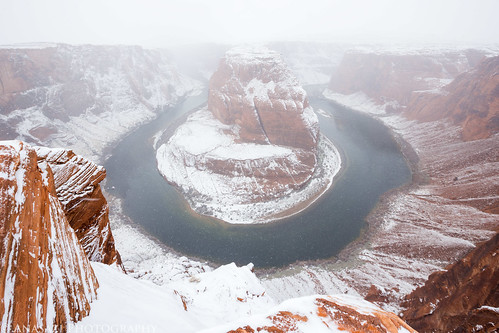 Horseshoe Bend Snowstorm | by IntrepidXJ