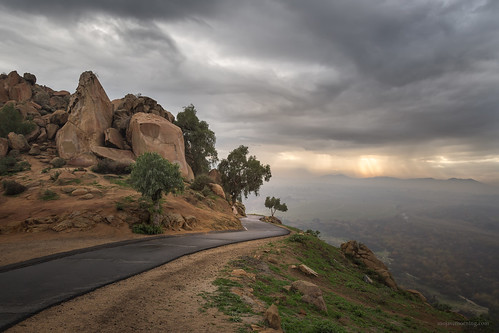 california winter sunset storm weather clouds landscape warm riverside mount rubidoux