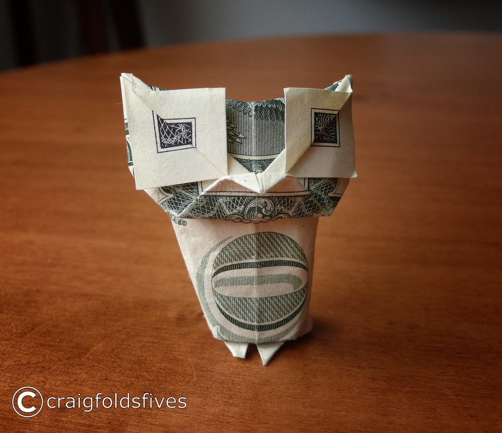 Dollar Owl (Stephen Weiss) | Dollar Owl. Model by Stephen We… | Flickr | 884x1024