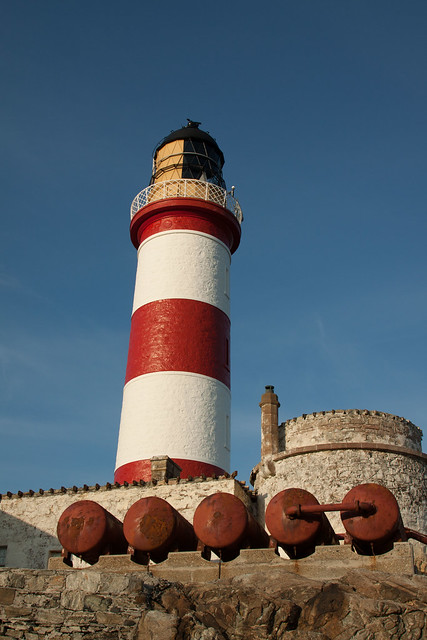 Eileen Glas Lighthouse, Isle of Scalpay, Outer Hebrides, Scotland