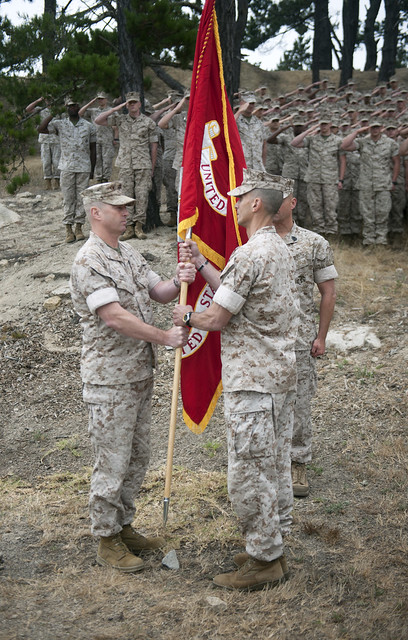Monterey MARDET Change of Command