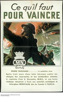 Ce qu'il faut pour vaincre ‒ Affiche de propagande de guerre / Men of Valor: They Fight for You – war propaganda campaign | by BiblioArchives / LibraryArchives