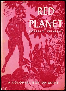 """""""Red Planet"""" by Robert A. Heinlein. NY: Scribner's, 1949. First Edition"""