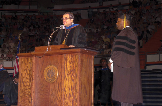 Samuel Pettijohn receives an honorary doctorate from.