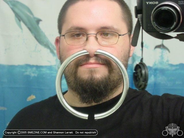 Nose Piercing Guy Nose Ring By Www Jonco48 Com Resolution Flickr