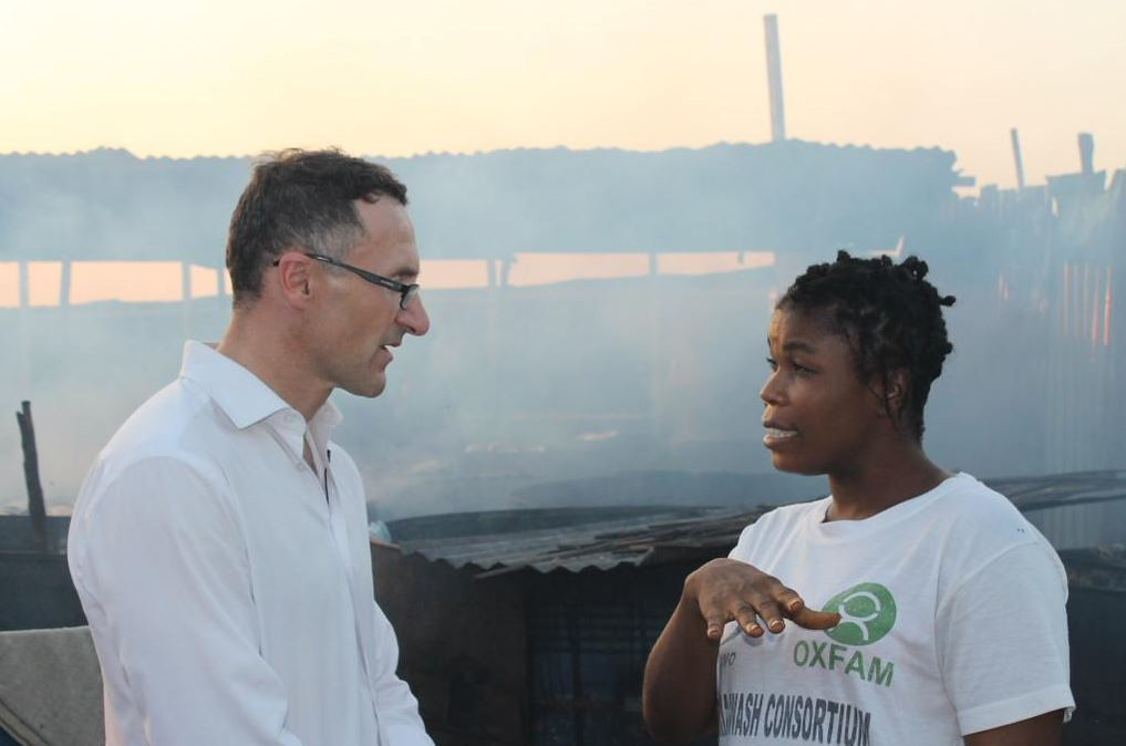 Sierra Leone - Typhoid relief!