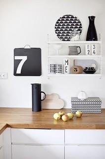 Black White Kitchen Accessories Boligpluss No Heath Ashli Flickr