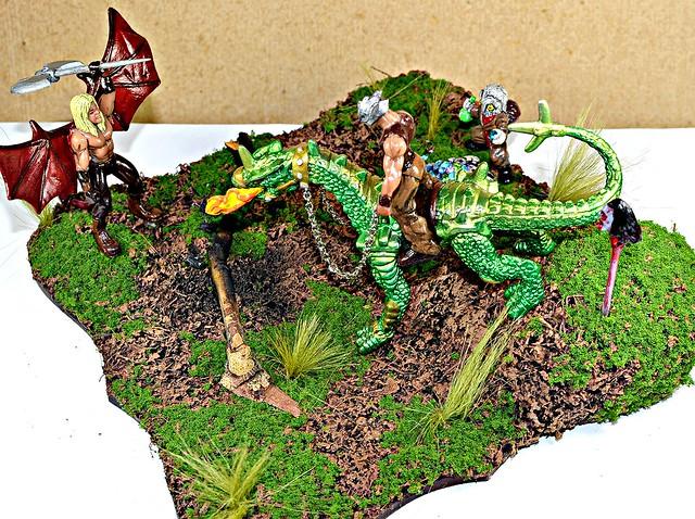 Fantasy diorama by Virva Peikko 11