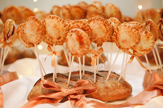 Real Wedding: PBJ Wedding Pie Pops | by Sweet Lauren Cakes