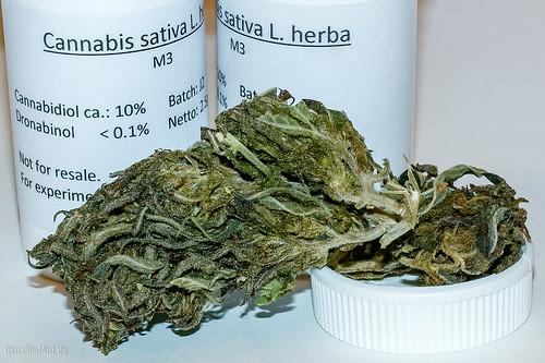 Marijuana (beinahe) ohne Rausch | by UsualRedAnt