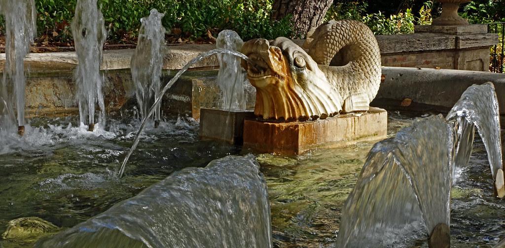 Fountain - Jardin de Glorieta - Valencia (Sony RX100M3)