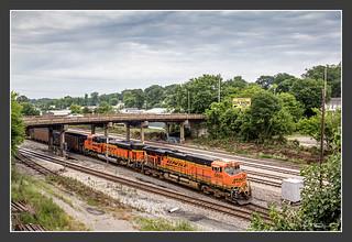BNSF, Dalton/GA, May/31/2012
