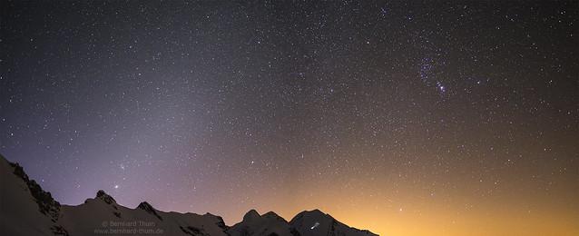 Night at Breithorn Plateau N°4