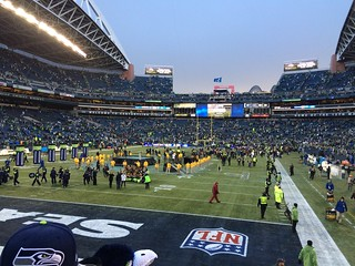 CenturyLink Field after yesterday's NFC victory | by russellb206