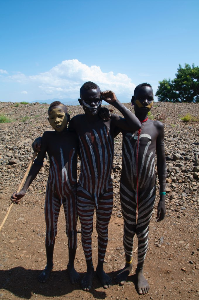 Mursi People, Ethiopia - YouTube