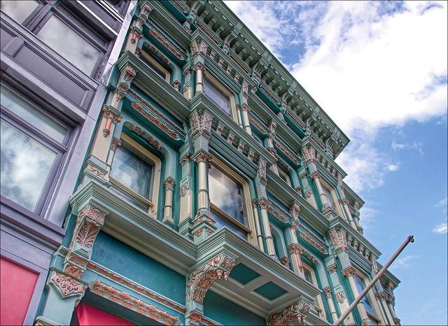 Binghamton New York ~ Hills Mclean and Haskin's Department Store  ~ Historic Italianate Architecture