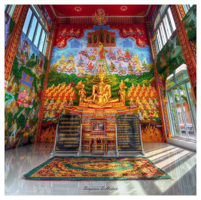 Hand Painted Shrine