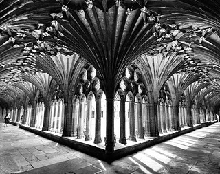 Canterbury Cathedral Cloisters | by Hexagoneye Photography