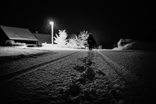 Walking home at midnight | by mripp