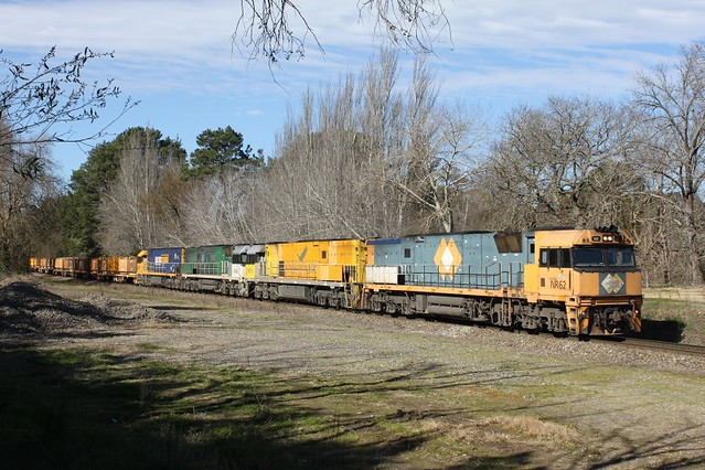 NR62,NR18,NR84,NR11 on 1WX2 at Bridgewater 7-8-12