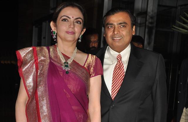 Mukesh And Nita