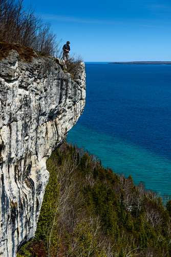 ca blue cliff white ontario canada water forest hope bay spring bruce drop hike height wiarton brucetrail hopebay