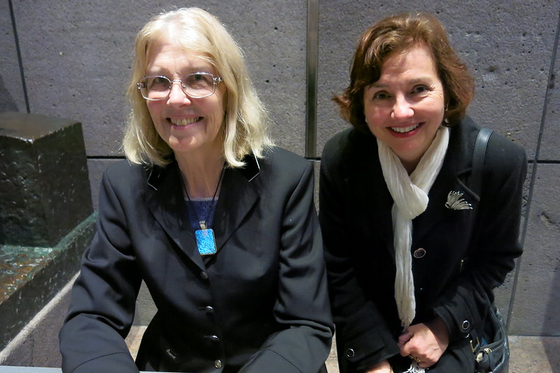 Jane Smiley and Rachel - WORD Christchurch