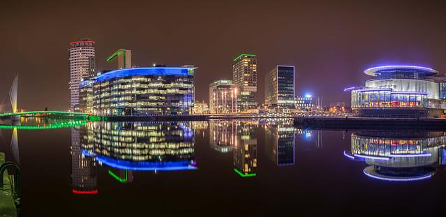 Manchester New Skyline
