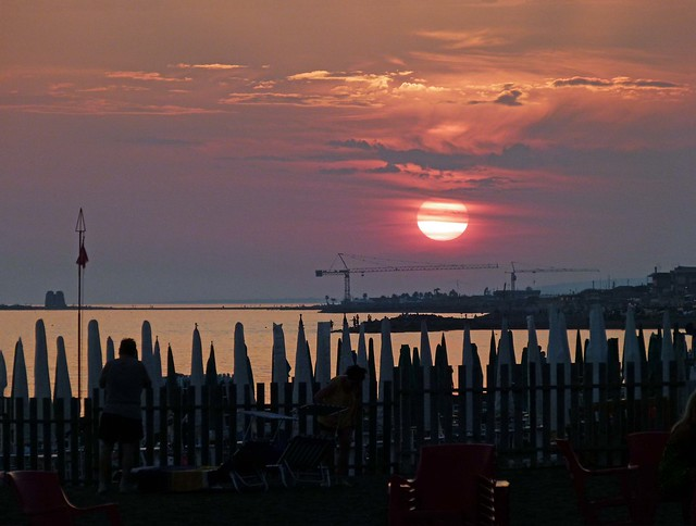 Ladispoli al tramonto