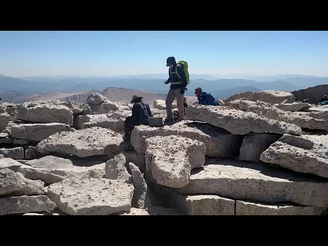 0608 Mount Langley Summit video