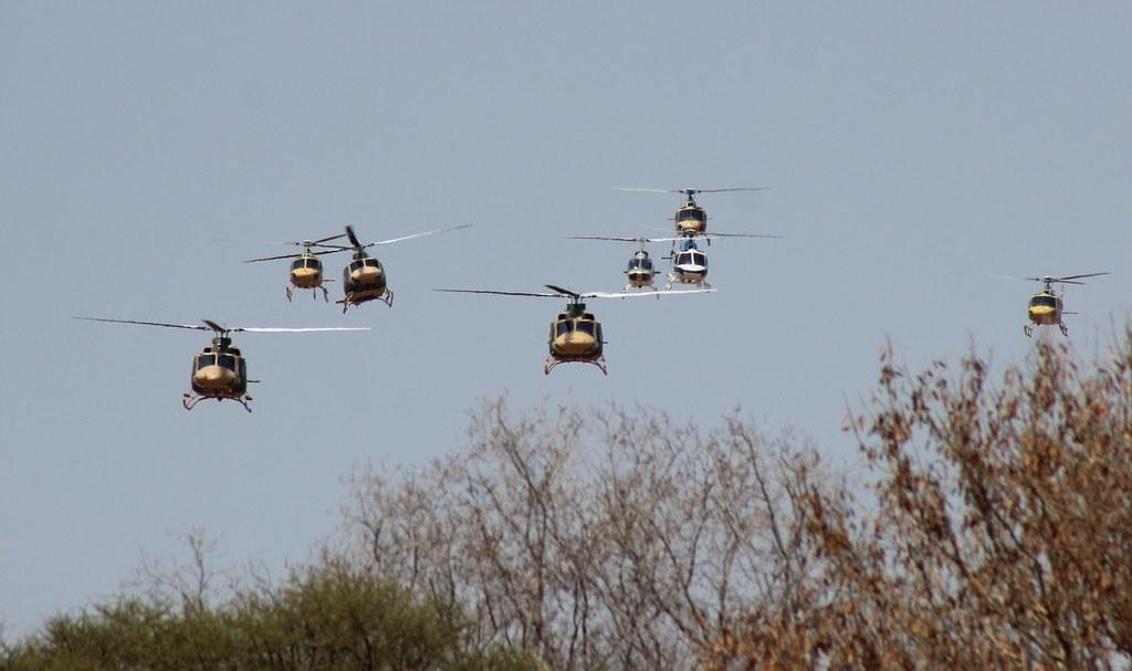 Botswana Independence Day - Heli 1