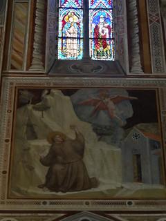 Serious laser stigmata shit goin down on St Francis, Santa Croce   by Nathan Mizrachi