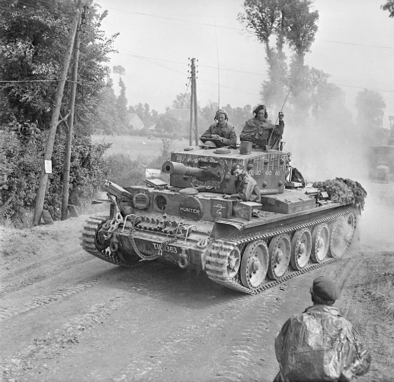 Centaur IV with 95mm howitzer,Royal Marine Armoured Support Group, Normandy 13 June 1944