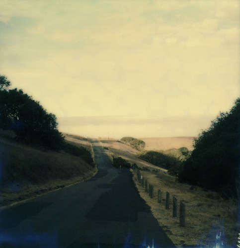 road film fog view instant slr680 gravityhill sonomamountain theimpossibleproject color600gen2beta