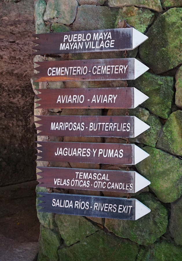 So Many Things Choose From at Xcaret Park