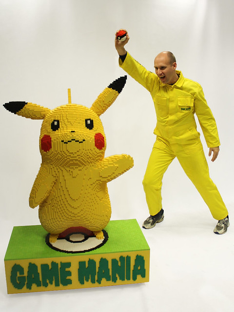 Catch a LEGO Pikachu