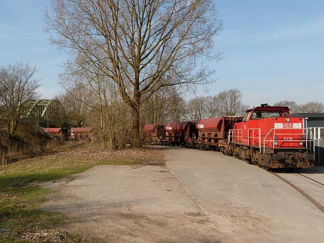 DB Cargo 6418, Dollegoor Almelo