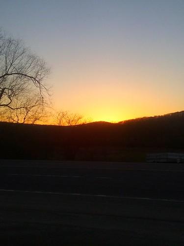 sun sunset sundown horizon oleanny olean