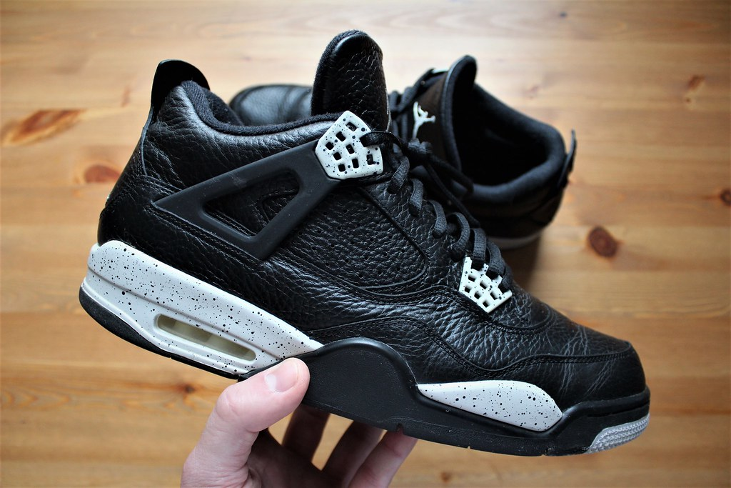 9272ad1954c29 NIKE AIR JORDAN 4 RETRO LS OREO' 314254-003 12US / UK11 / … | Flickr