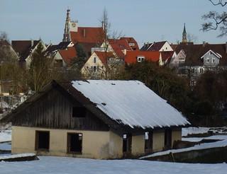 Stadtansicht Bad Waldsee.